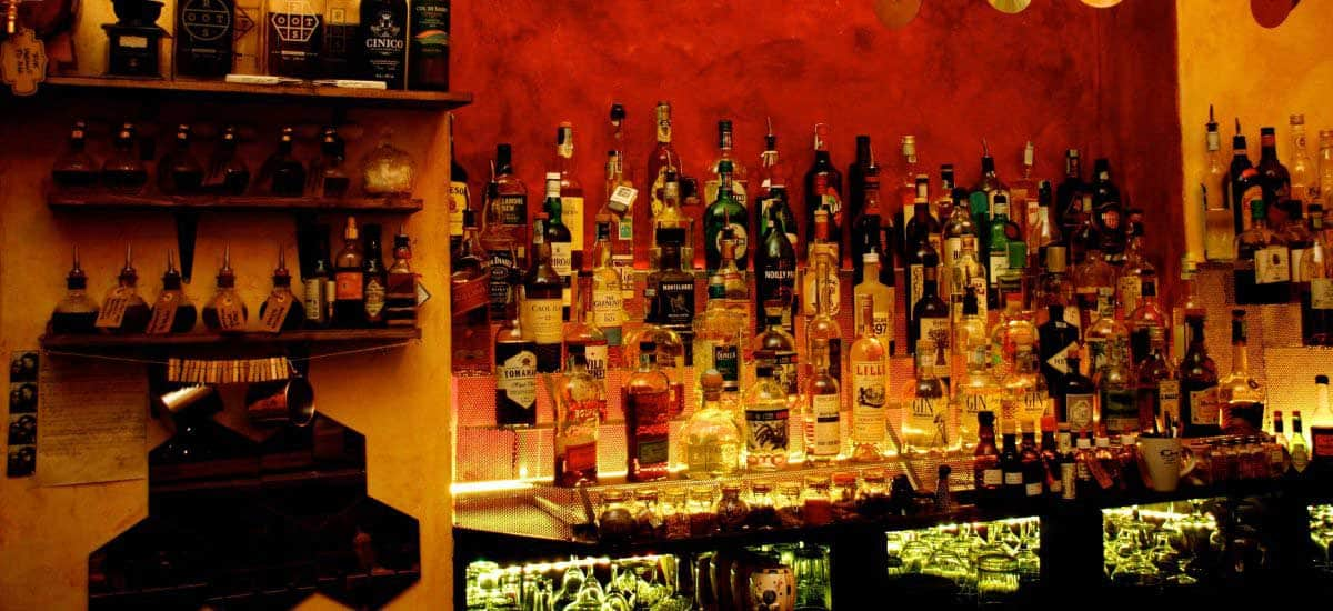 Bottigliera Fuk Cocktail bar